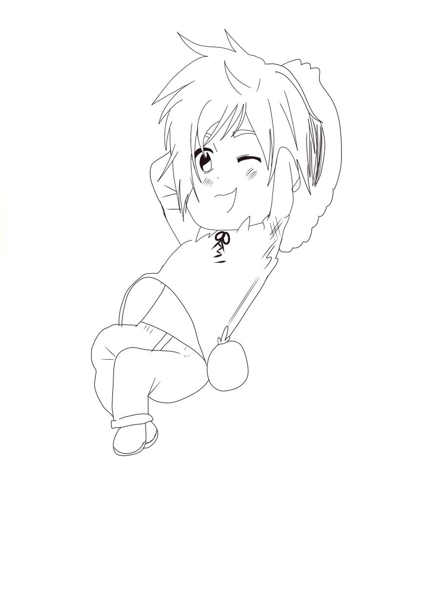 chibi Spain LineArt by ZzZNelliezZz
