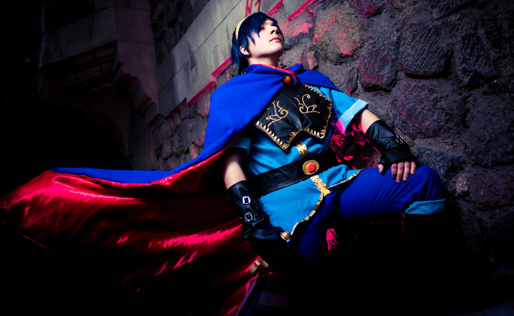 The Fire Emblem - Marth I by MadeinPlute