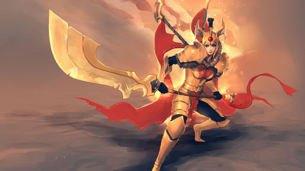 Legion Commander - DotA2 by Swenom on DeviantArt