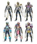Kamen Rider Tsukuyomi All Armors