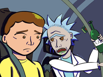 Rick and Morty Time by TheOtherKilroy