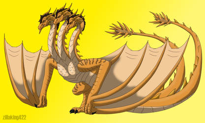 Spyroverse - King Ghidorah