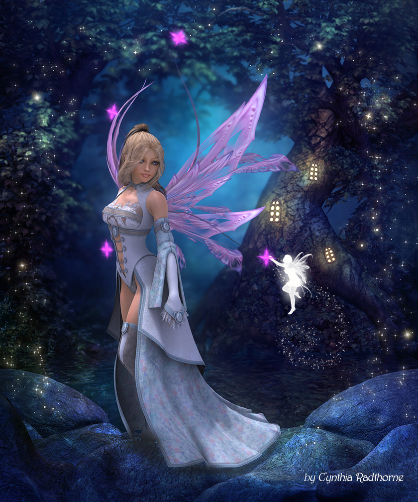 Playful Faeries by Radthorne on DeviantArt
