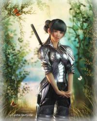 The Little Warrior by Radthorne
