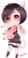 Commission: Sweet plush~