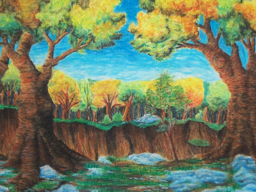 oil pastel by mebeme14 on DeviantArt