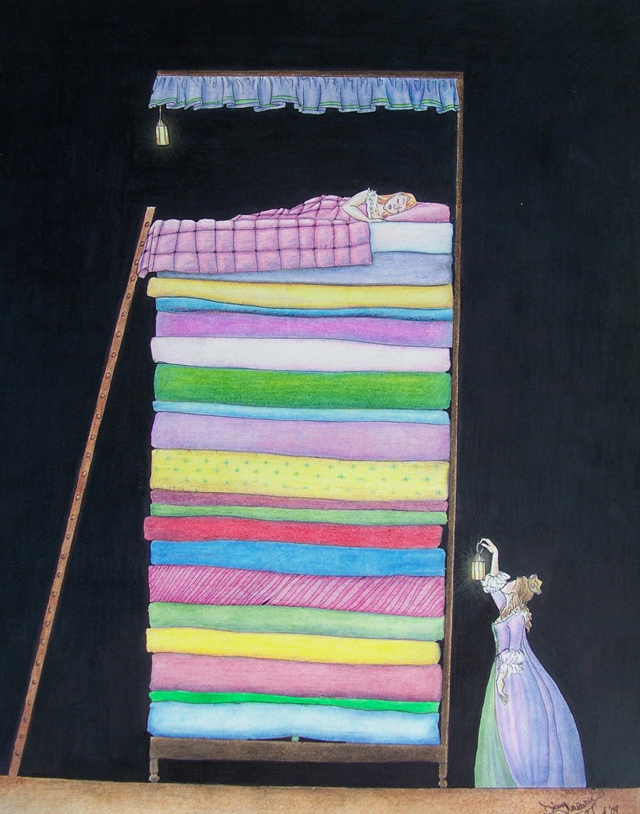 Princess And The Pea Bed