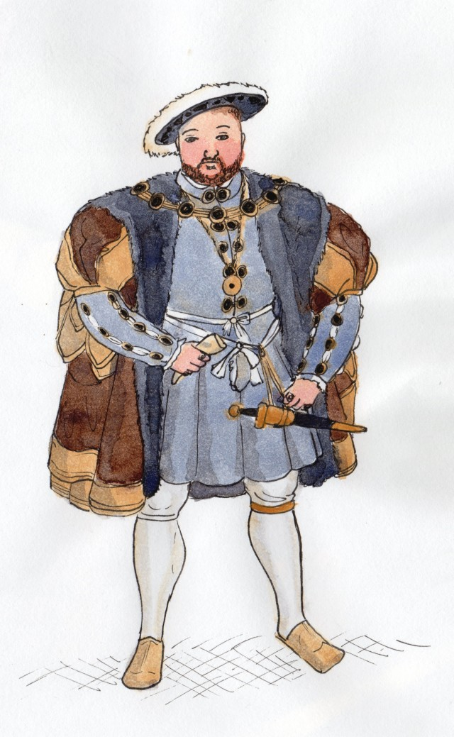 Henry VIII's Exciting Fur Coat by mebeme14
