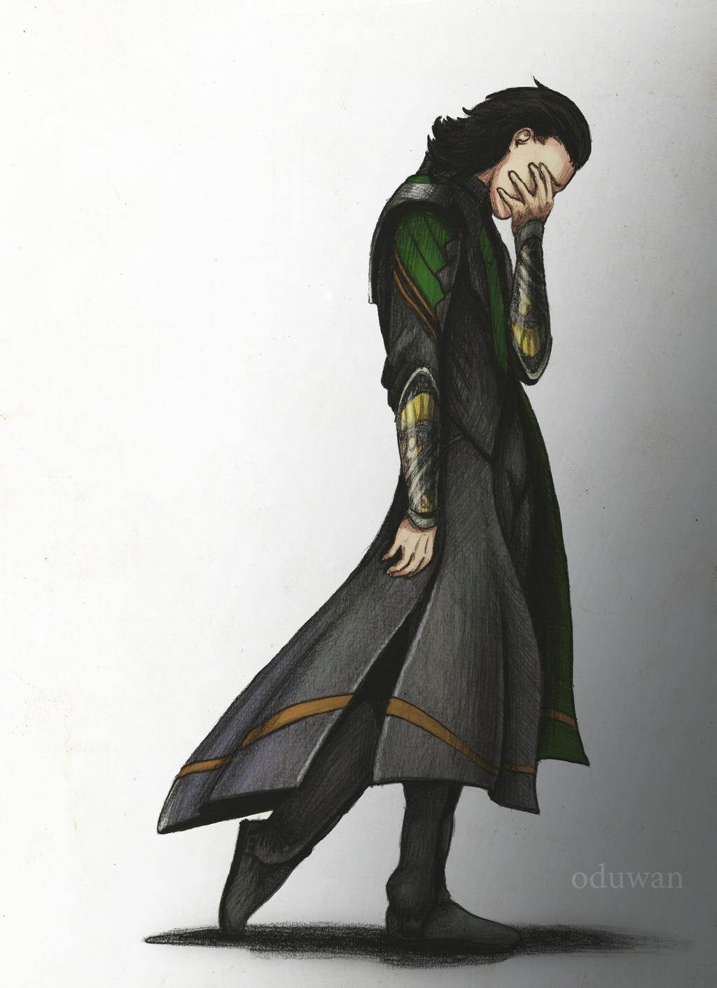 Loki by Oduwan on DeviantArt