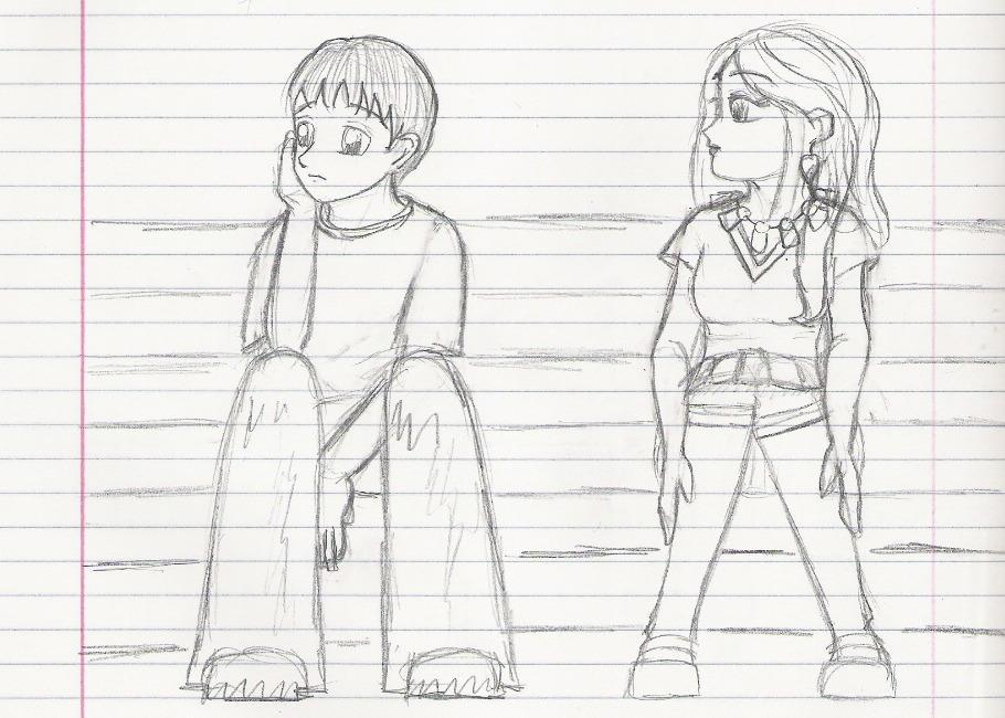 Neville and Luna by Nekiko