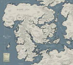 Map of Oru, and the Realms Beyond the Seas