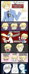 The many faces of Tamaki Suoh by Wasaga