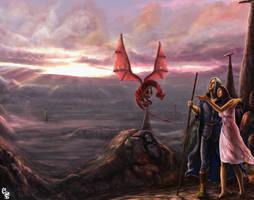 dragon lance by designes