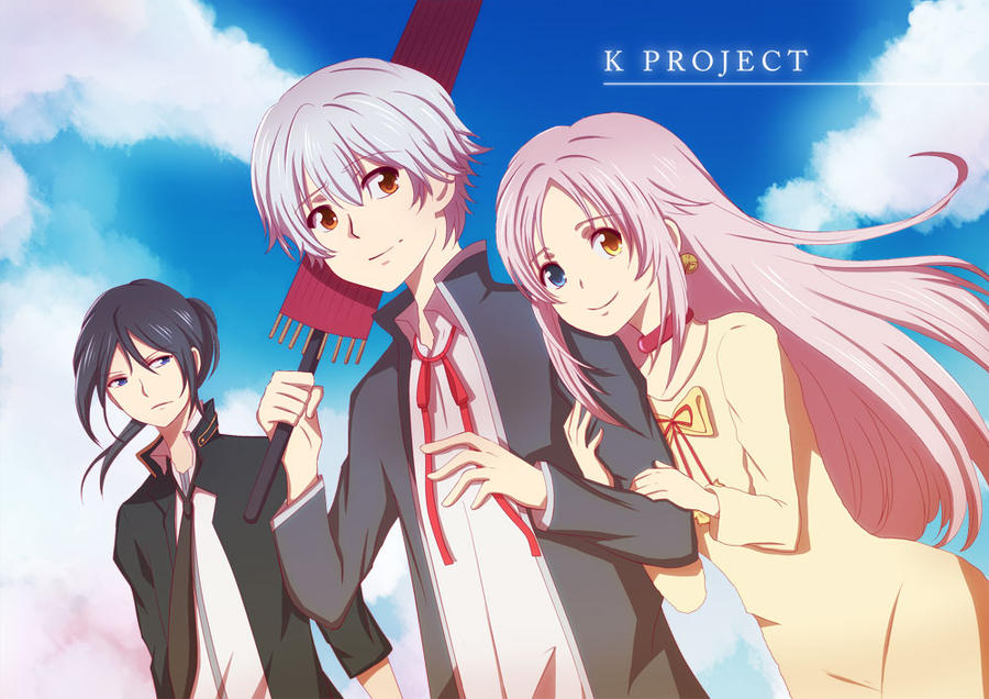 K Anime Characters Shiro : K project by hachikurooo on deviantart