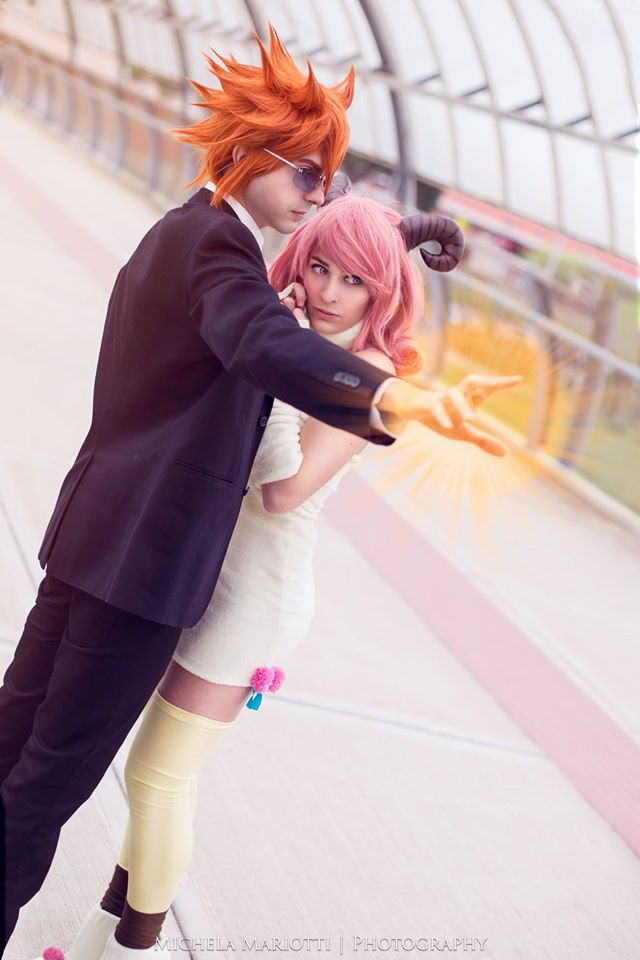 Aries And Leo Fairy Tail Cosplay By Giuliazelda On Deviantart