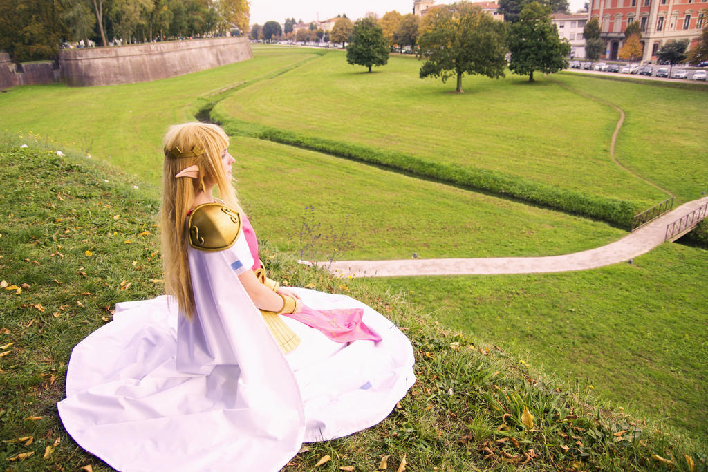 Zelda from A Link Between Worlds by GiuliaZelda