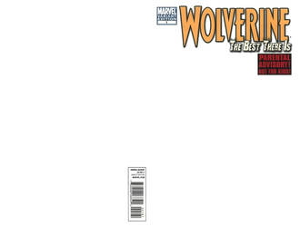Blank Cover - Wolverine - The Best There Is by RichardJPG