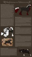 Nightmare Breed Sheet by Cogaidh