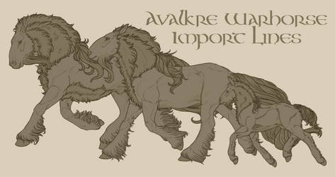 Avalkre Warhorse by Cogaidh