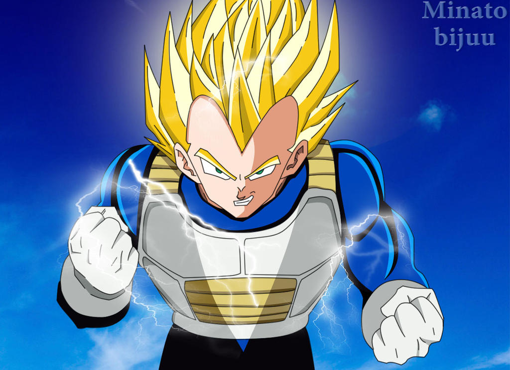 Vegeta super saiyan v2 by minatobijuu on deviantart - Super sayen 10 ...