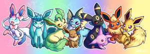 wow thats a lot of eevee