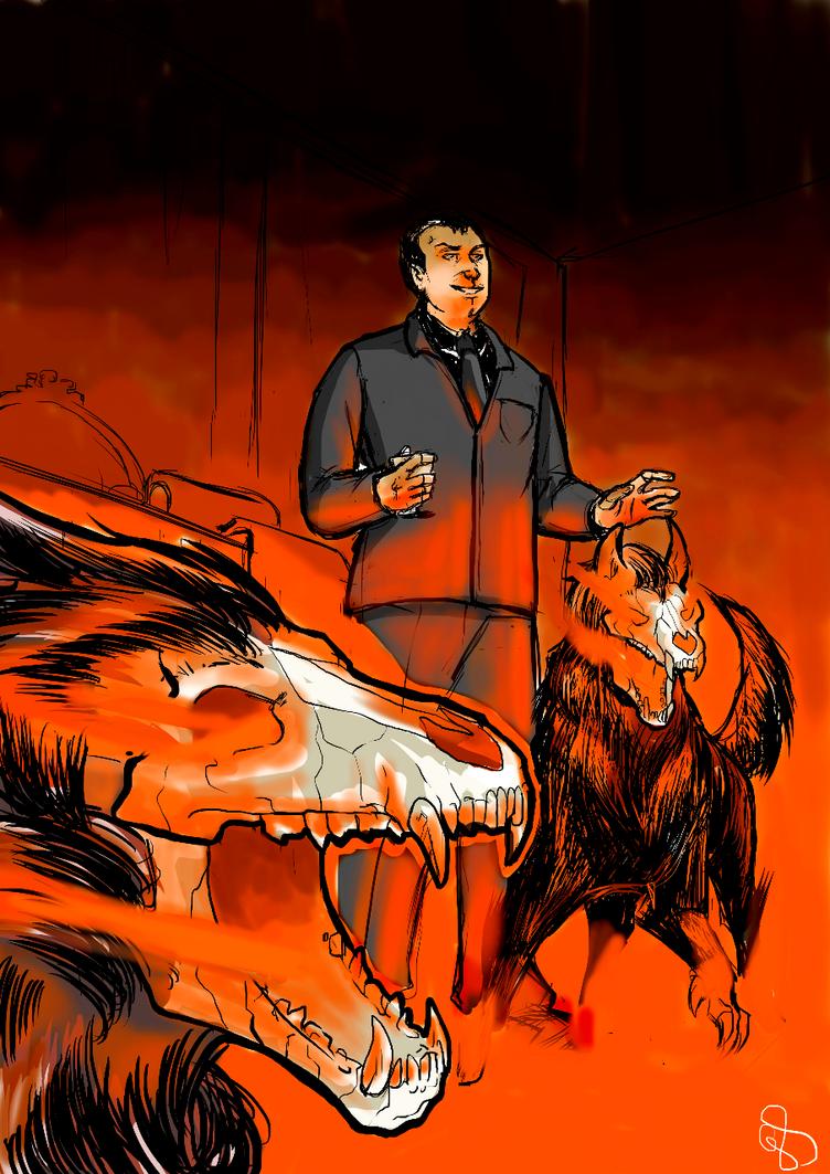 Hellhounds by Mismistral