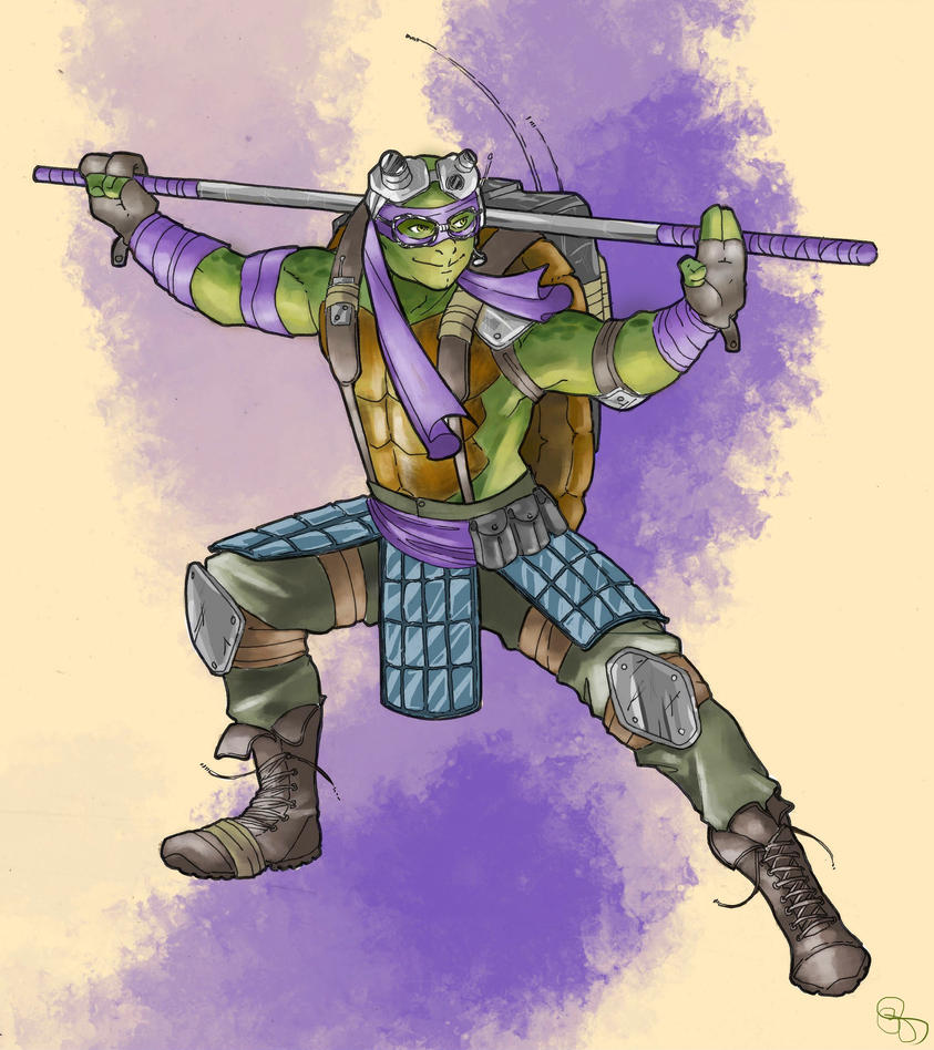 Donatello by Mismistral