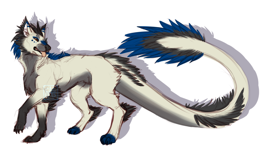Aerowen- Feather tail by DarkBullet777