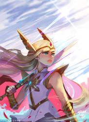 She-Ra Fanart by FerlanOppa