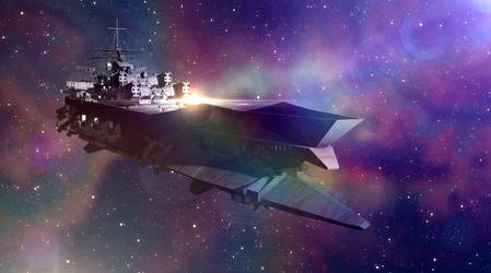 The Ship With No Name by spaceagents