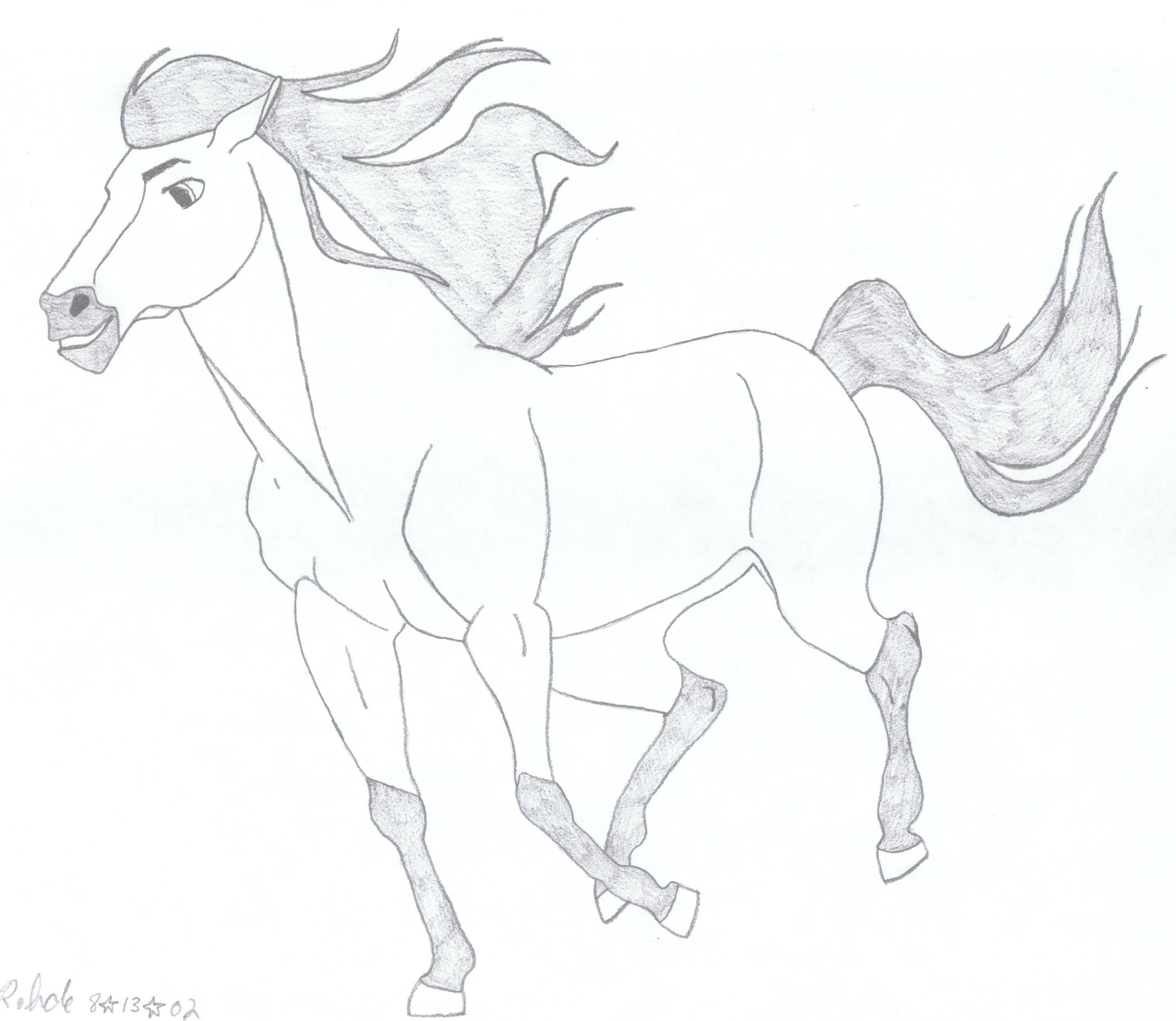 Spirit Stallion by 1984MLR on DeviantArt  Spirit Stallion...