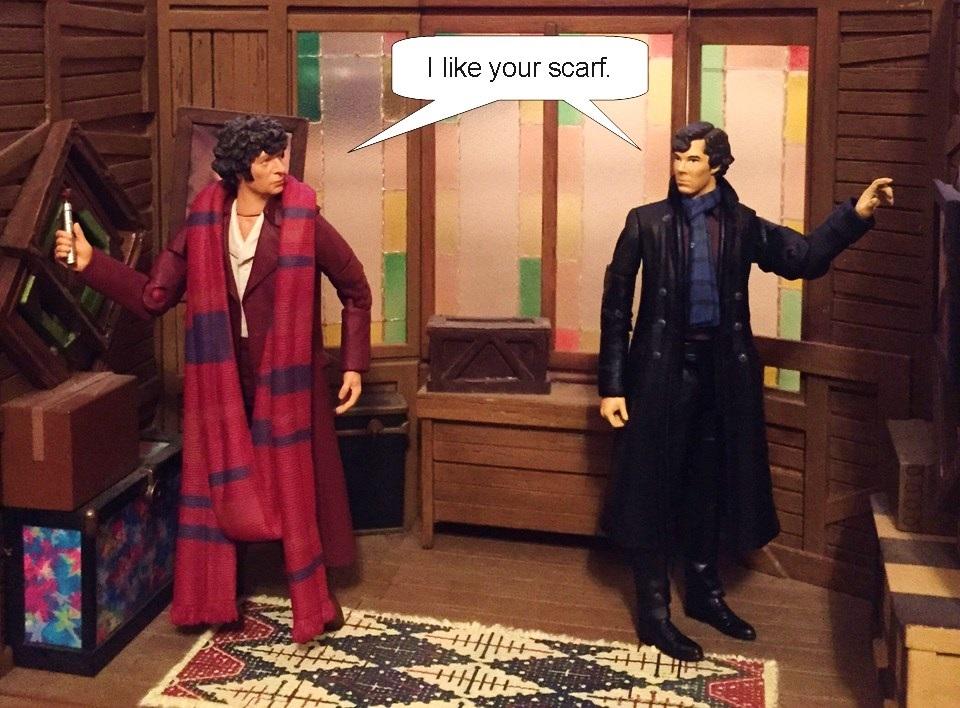 I like your scarf by Aradrath