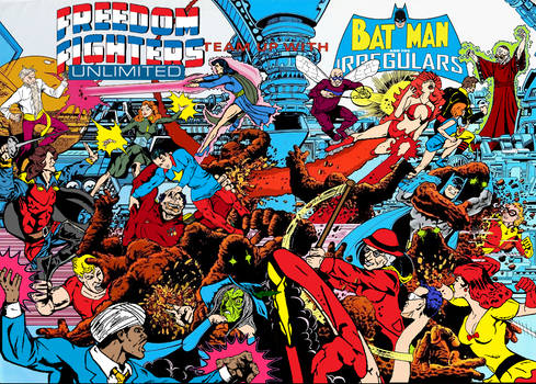 Batman and the Irregulars Freedom Fighters Unltd