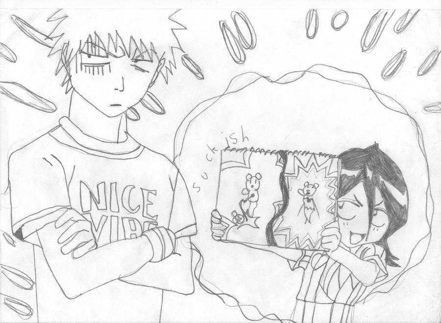 Rukia's cute drawing skills by SasukexExcorcist on DeviantArt
