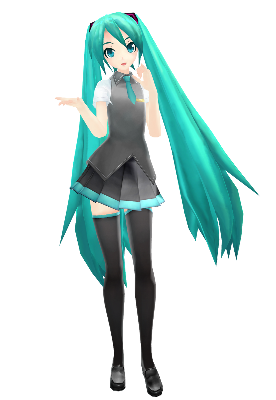 3d mmd sultry hatsune miku bangs amp dances in follow the leader 5