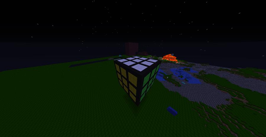 Rubiks cube by wazzer100