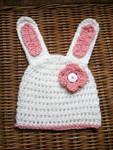 Easter Bunny Crochet Hat -  Free Pattern by TampaBayCrochet