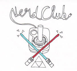 Nerd Club Logo by RexyisaShark