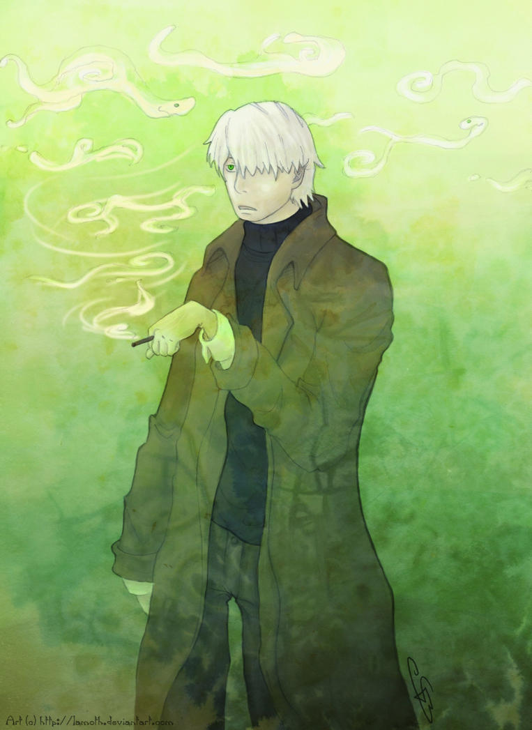 Ginko - Smoke Slowly Swirls by Lamoth