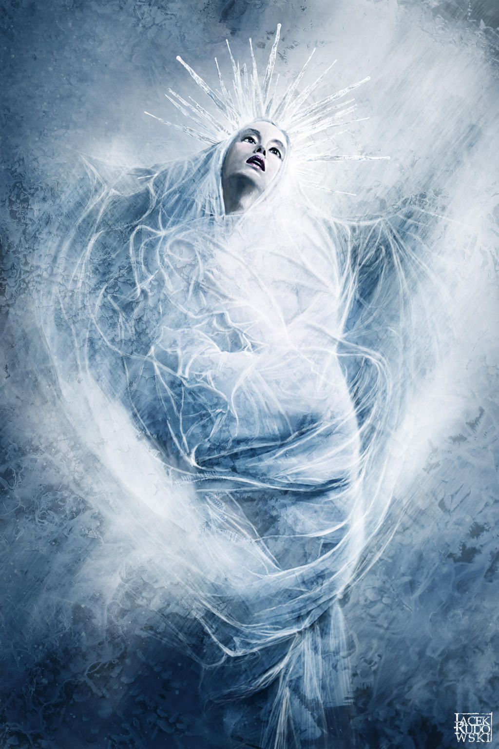 lady winter by q2jacek
