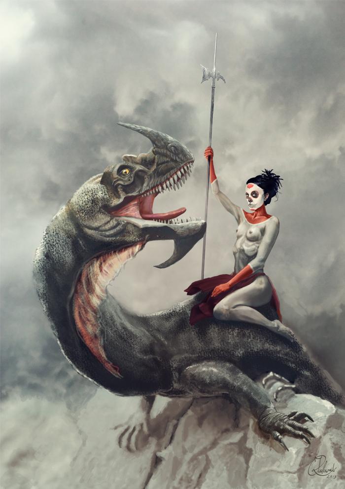 Dragon Rider by q2jacek