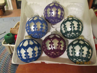 Crochet Ornaments by Tuloa