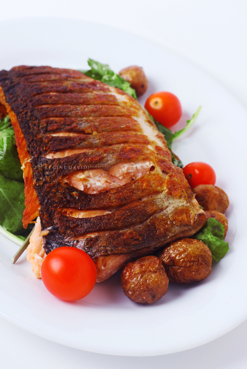 Roast Tasmanian Salmon by anti00gravity