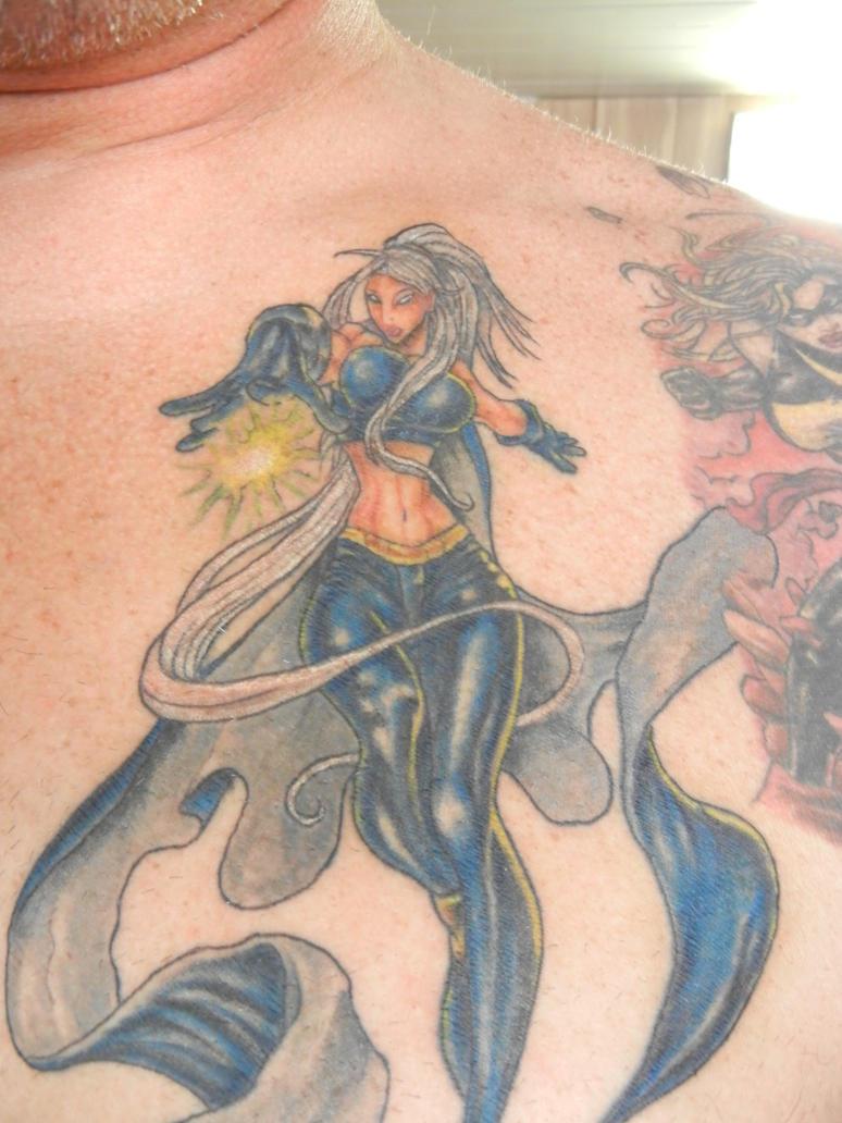 storm tattoo by thedirtybird1X Men Storm Tattoo