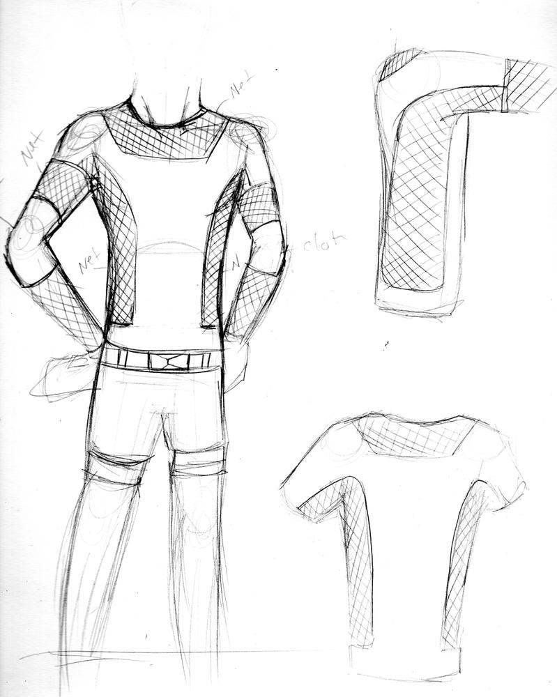 Concept clothing sketch by TantricToza on DeviantArt