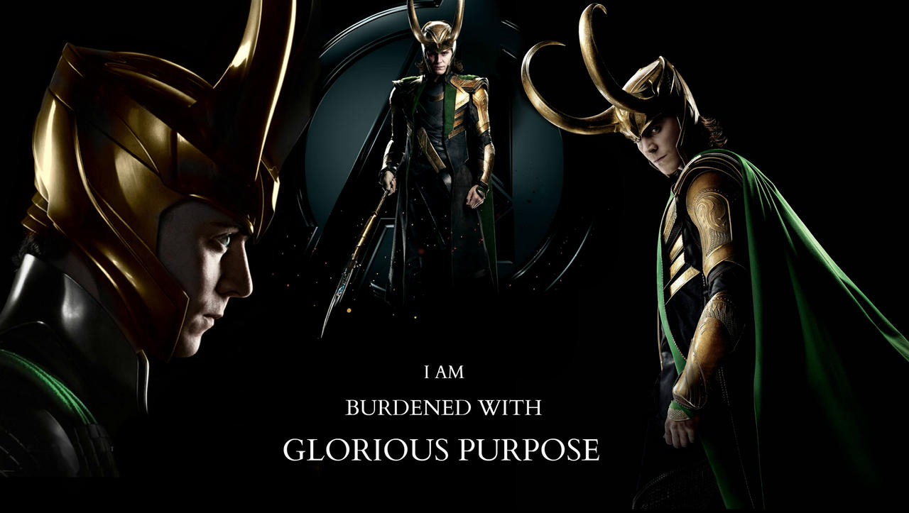 I AM BURDENED WITH GLORIOUS PURPOSE