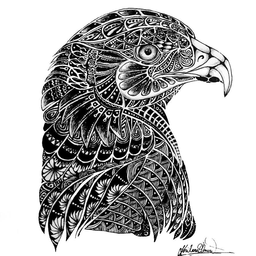 Ornate Eagle by Slightly-Spartan