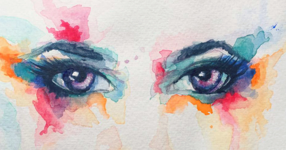 First Attempt With Watercolor by Slightly-Spartan