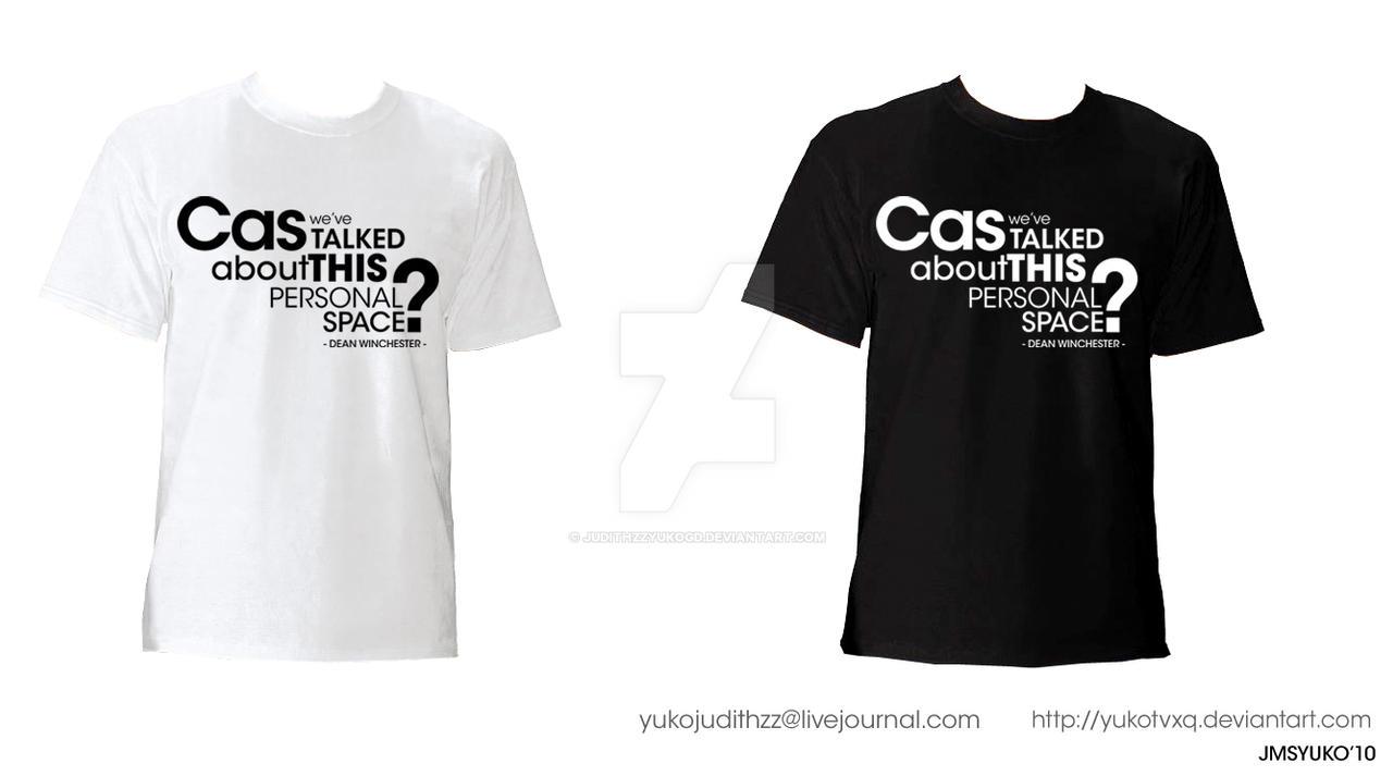 Destiel Tshirt E by JudithzzYukoGD