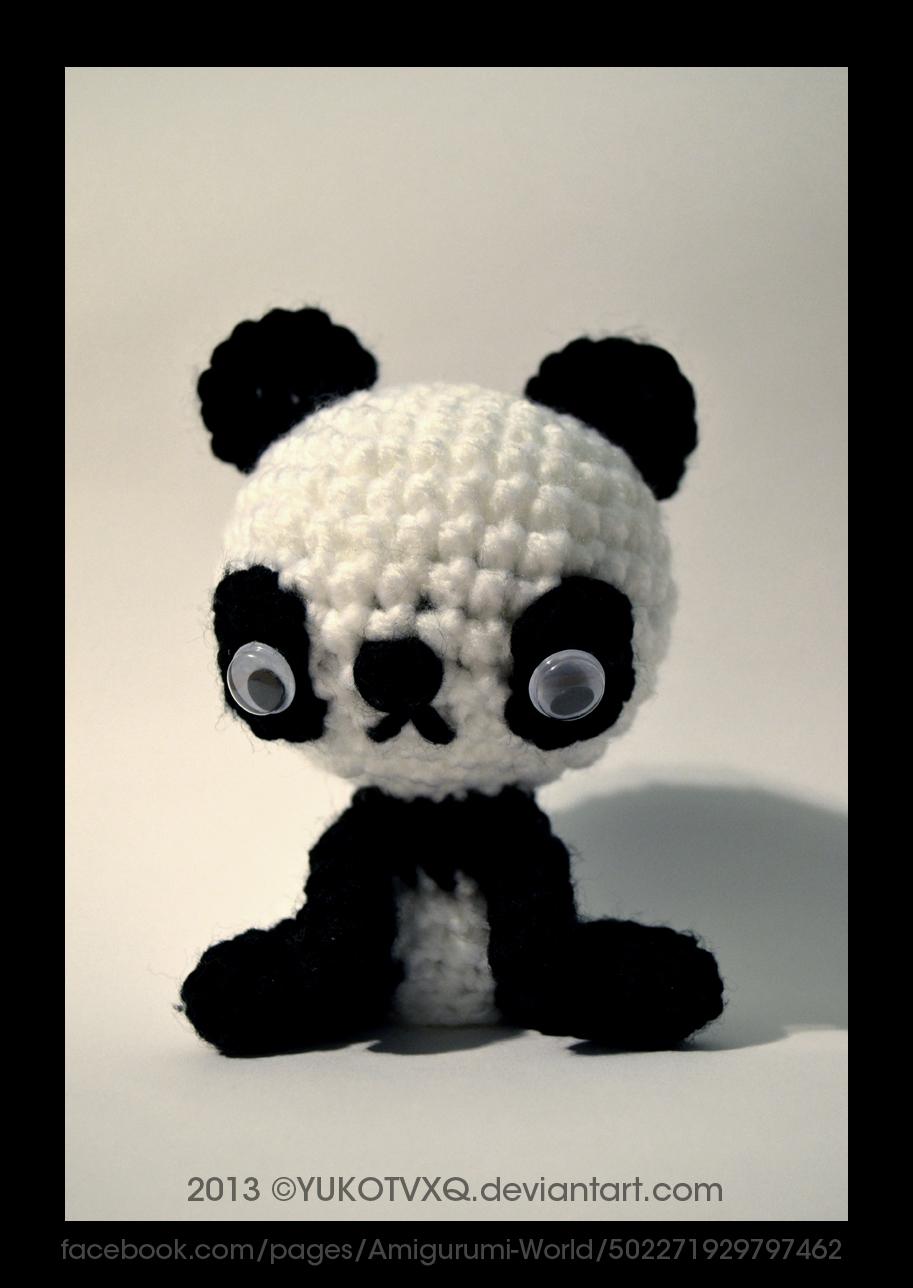Kawaii Panda Amigurumi : Cute panda (Amigurumi-World) by JudithzzYukoGD on DeviantArt